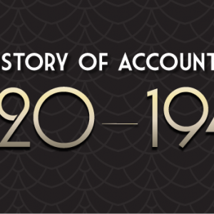 History of Accounting 1920-1940
