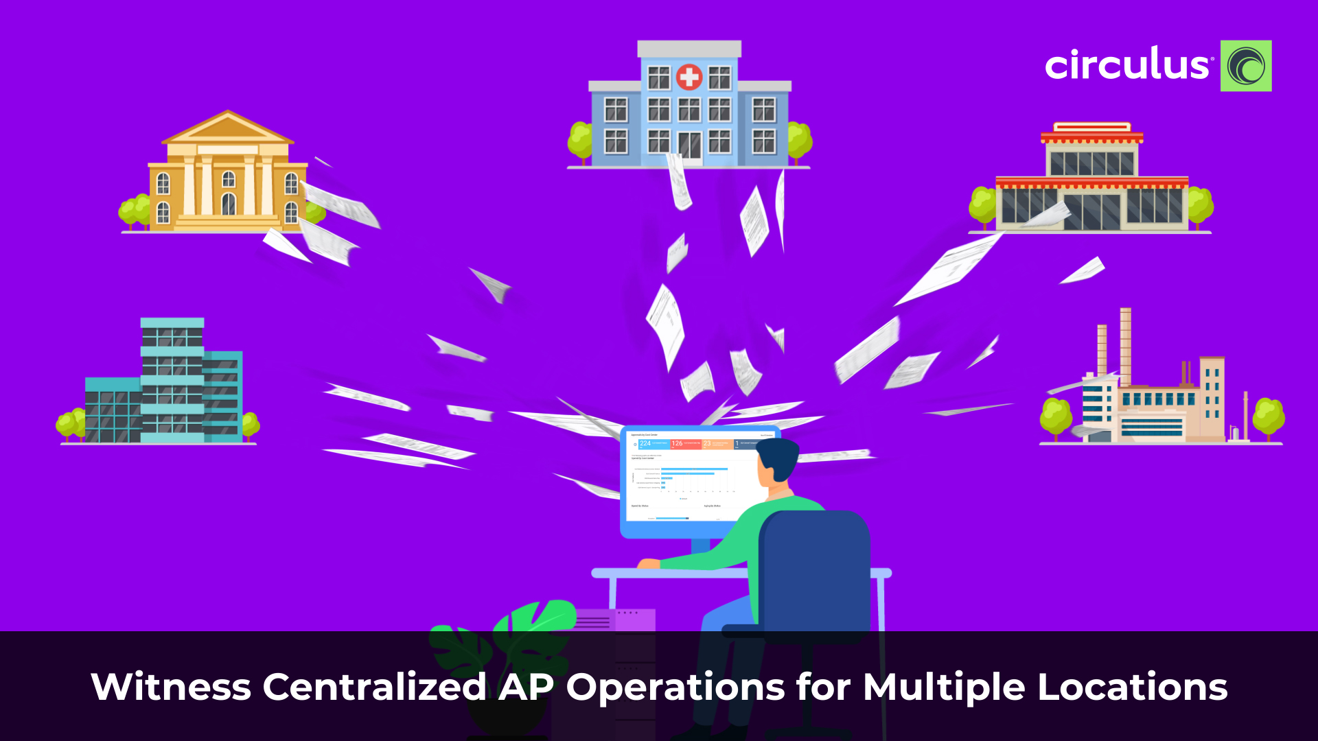 Witness Centralized AP Operations for Multiple Locations