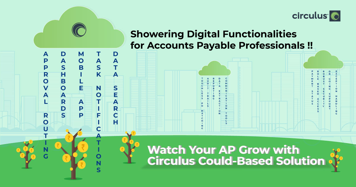 Showering Digital Functionalities for Accounts Payable Professionals !!